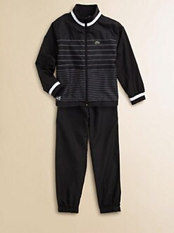 Lacoste - Boy's Two-Piece Andy Roddick Track Jacket & Track Pants Set