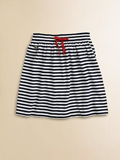 Lacoste - Girl's Striped Jersey Skirt