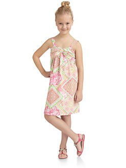 KC Parker - Girl's Printed Cotton Dress