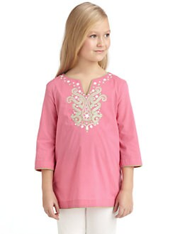 KC Parker - Girl's Embroidered Tunic