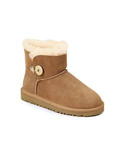 UGG Australia - Toddler's & Kid's Bailey Button Mini Boot
