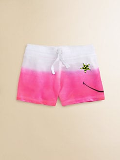 Flowers by Zoe - Girl's Smiley Sweatshorts