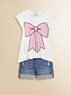Wildfox Kids - Girl's Hippie Bow Tee