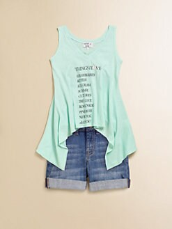 Wildfox Kids - Girl's Dreamer Cotton Tank Top