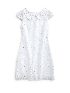 Lilly Pulitzer Kids - Girl's Mini Nicci Lace Dress