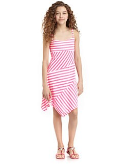Ella Girl - Girl's Lila Striped Dress