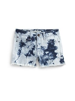 Joe's - Girl's Acid-Washed Denim Shorts