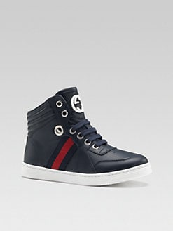 Gucci - Boy's Coda High-Top Sneakers