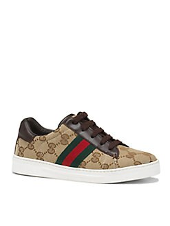 Gucci - Boy's Ace Lace-Up Sneakers