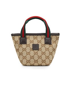 Gucci - Kid's Small Signature Web Handbag