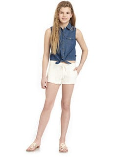 DKNY - Girl's Billie Tie Tee