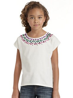 DKNY - Girl's Embellished Stephanie Top