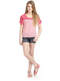 DKNY - Girl's Beverly Lace Top