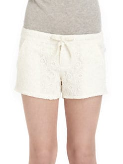 DKNY - Girl's Daisy Lace Shorts