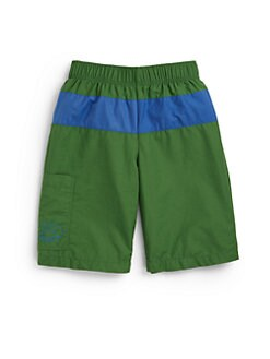 Lacoste - Boy's Colorblock Swim Trunks