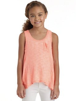Splendid - Girl's Beach Glass Knit Tank Top
