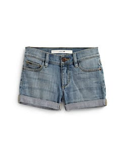 Joe's - Girl's Cuffed Denim Shorts