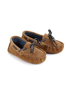 Cole Haan - Infant's Suede Moccasin Drivers