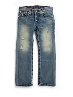 True Religion - Boy's Jack Super-T Slim Fit Jeans
