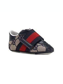 Gucci - Infant's Wide Strap Sneakers