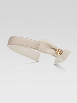 Gucci - Toddler's & Little Girl's Bow GG Heart Headband