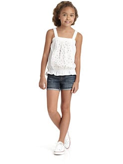 DKNY - Girl's Crochet Tank Top