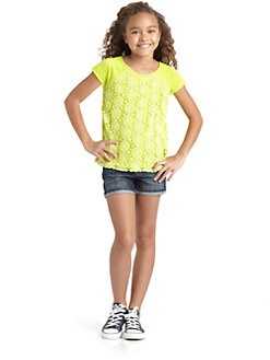 DKNY - Girl's Crochet Top