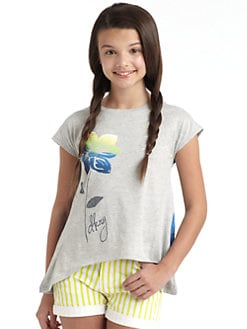 DKNY - Girl's Rainbow Top