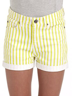 DKNY - Girl's Seastripe Shorts