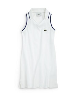 Lacoste - Girl's Super Dry Piqué Polo Dress