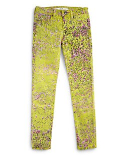 Joe's - Girl's Floral-Print Denim Leggings