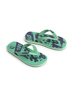 Diesel - Boy's Maya Printed Flip Flops