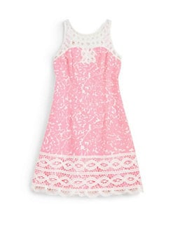 Lilly Pulitzer Kids - Girl's Little Delia Shift Dress
