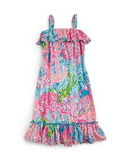 Lilly Pulitzer Kids - Girl's Little Bridgette Maxi Dress