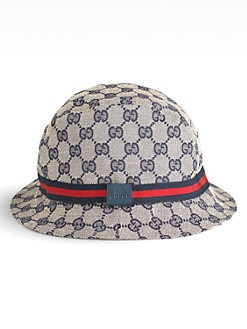 Gucci - Kids' Logo Print Fedora