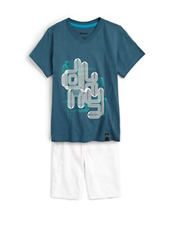DKNY - Boy's Pipes Tee