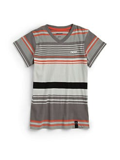 DKNY - Boy's Sunset Striped Tee