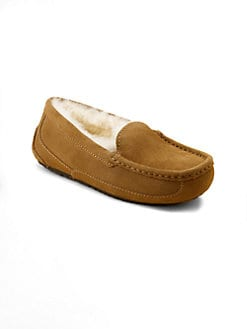 UGG Australia - Kid's Ascot Suede Slippers
