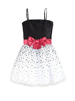 Un Deux Trois - Girl's Polka Dot Dress