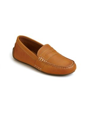 Kid's Telly Leather Loafers