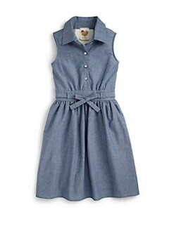 Kiddo - Girl's Chambray Tie Dress