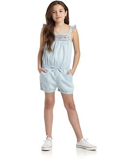 DKNY - Girl's Seaside Romper