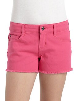 DKNY - Girl's Rockaway Denim Shorts