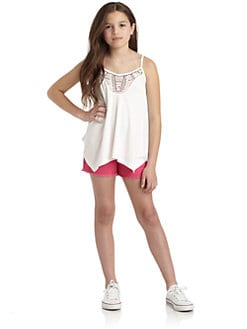 DKNY - Girl's Embellished Tank Top