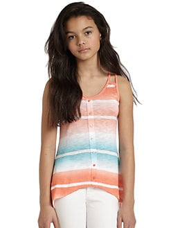 Splendid - Girl's Ombré Stripe Tank