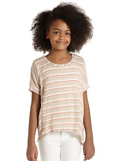 Splendid - Girl's Stripe Sweater Tee