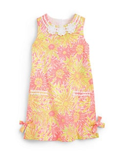 Lilly Pulitzer Kids - Girl's Little Lilly Glow-In-The-Dark Shift Dress