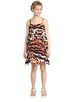 DKNY - Girl's Vera Printed Dress