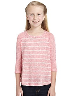 Splendid - Girl's Valencia Striped Knit Top