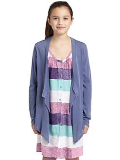 Splendid - Girl's Vintage Whisper Wrap Cardigan